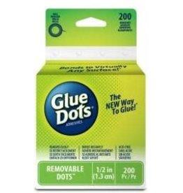 "Treasuremart Removable, Roll/200 Glue Dots 1/2"""