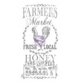 Treasuremart Decor Transfers, Farmers Market 18X36""