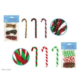 "MultiCraft 3.25"" Twisters' Mini Candy Canes"