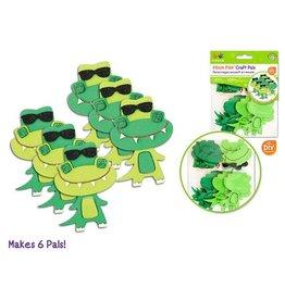 MultiCraft DIY Foam Pal Kits Kit Makes 6 Rockin' Crocs