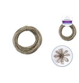 MultiCraft Natural Hemp Cord: 20lb (1mm) 15yd/hank