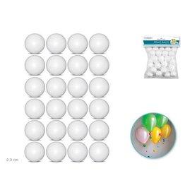 """MultiCraft Polyfoam Ball: 1"""" 24/pk"""