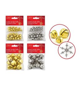 MultiCraft Holiday Craft Essential: 8mm-30mm Jingle Bells Asst