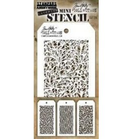 Tim Holtz Mini Stencil, Set #26