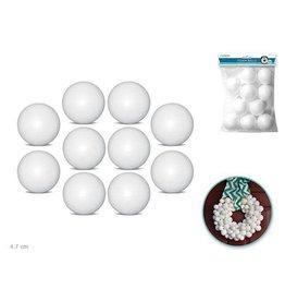 """MultiCraft Polyfoam Ball: 2"""" 10/pk"""