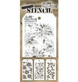 Tim Holtz Mini Stencil, Set #19