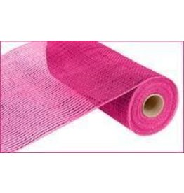 """Craig Bachman 10""""X10yd Deluxe Wide Foil Mesh Hot Pink W/Hot Pink Foil"""