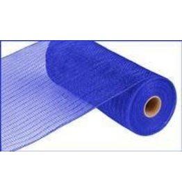 "Craig Bachman 10""X10yd Metallic Mesh Royal Blue W/Blue Foil"