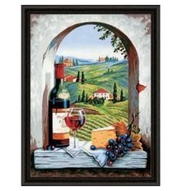 """Paint Works Paint By Number Kit 11""""X14"""" Tuscan View"""