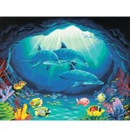 """Paint Works Paint By Number Kit 20""""X16"""" Deep Sea Paradise"""
