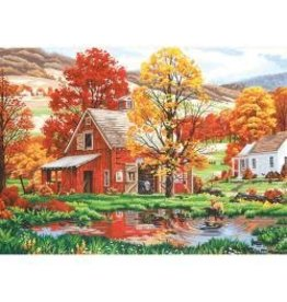 """Paint Works Paint By Number Kit 16""""X20"""" Friends Of Autumn"""