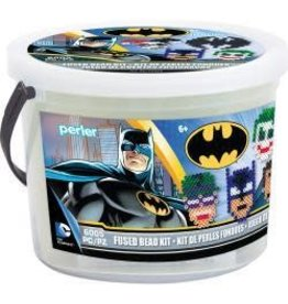 Batman Perler Fused Bead Bucket Kit