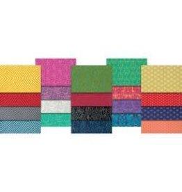 """True Colors-Tula Pink 2.5""""X44"""" Design Roll 40pcs"""
