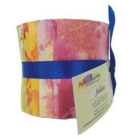 """Fabric Palette Jellies 2.5""""X42"""" 20/Pkg Long Road Batik"""