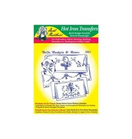 Aunt Martha's Iron-On Transfers - Floral