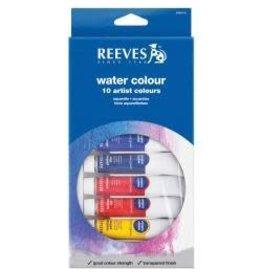 Reeves Water Colour Paints 10ml 12/Pkg Assorted Colors