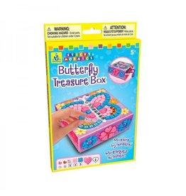 Sticky Mosaic Sticky Mosaic Butterfly Treasure Box
