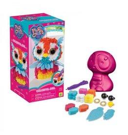 Plush Craft Plush Craft 3D Colorful Owl