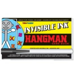 """Yes & Know Invisible Ink: Yes & Know Game Book """"Hangman"""""""