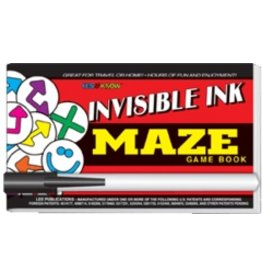 """Yes & Know Invisible Ink: Yes & Know Game Book """"Maze"""""""