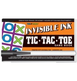 """Yes & Know Invisible Ink: Yes & Know Game Book """"Tic-Tac-Toe"""""""