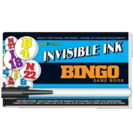 """Yes & Know Invisible Ink: Yes & Know Game Book """"Bingo"""""""