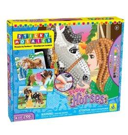 Sticky Mosaic Sticky Mosaic I Love Horses