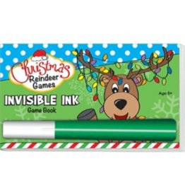 """Yes & Know Invisible Ink: Christmas Game Book """"Reindeer Games"""""""