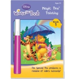 Yes & Know Magic Pen Painting: Winnie the Pooh Book 1