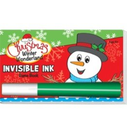 """Yes & Know Invisible Ink: Christmas Game Book """"Winter Wonderland"""""""