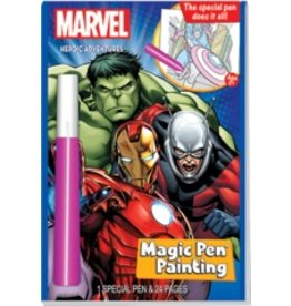 """Yes & Know Magic Pen Painting: Marvel Super Heroes """"Heroic Adventures"""""""