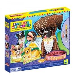 Sticky Mosaic Sticky Mosaic Playful Puppies