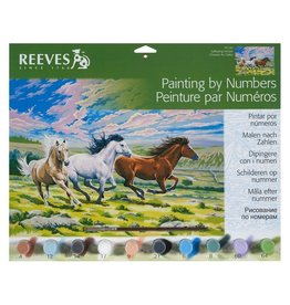 Reeves Galloping Horses Paint By Number