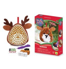 Plush Craft Plush Craft Reindeer Ornament