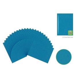 "Felt Sheets: 9""x12"" Premium Bar-Coded -Teal Blue"
