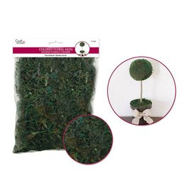 Preserved Naturals: 2oz Colored Floral Moss (60gms) -Wild Moss Green