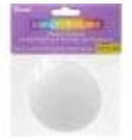 "Darice Plastic Canvas Shapes -Round-Count 3"" 10/Pkg"