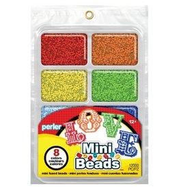 Perler Mini Beads Fused Bead Tray 8,000/Pkg Rainbow