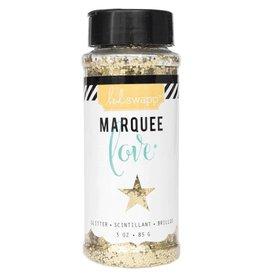 Heidi Swapp Marquee Love Chunky Glitter 3 Ounces/Jar Gold