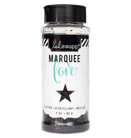 Heidi Swapp Marquee Love Chunky Glitter 3 Ounces/Jar Black