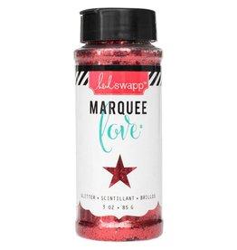 Heidi Swapp Marquee Love Chunky Glitter 3 Ounces/Jar Red