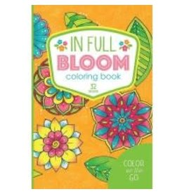 Color On The Go In Full Bloom Coloring Book