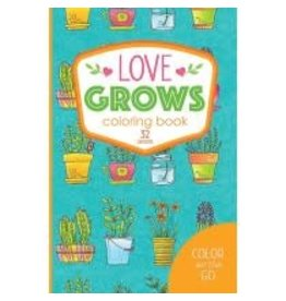 Color On The Go Love Grows Coloring Book