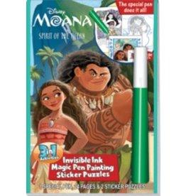 Magic Pen Painting: Disney Moana