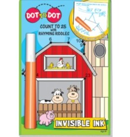 Invisible Ink: Dot-To-Dot - Count to 25 with Rhyming Riddles