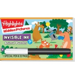 Invisible Ink: Highlights Hidden Pictures™ - Animal Puzzles