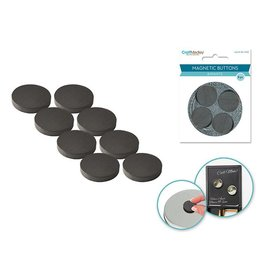 Magnets Magnetic Buttons: 22mm 8pcs/pk On Mirror