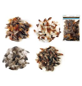 Feather Craft: 3g Natural Minis Asst 4styles
