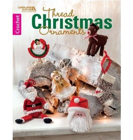 Leisure Arts Thread Christmas Ornaments Booklet