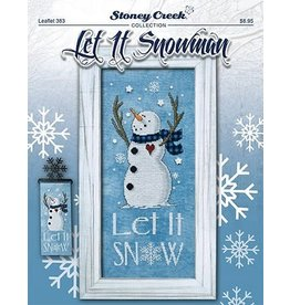 Stoney Creek Let it Snowman Counted Cross Stitch Pattern